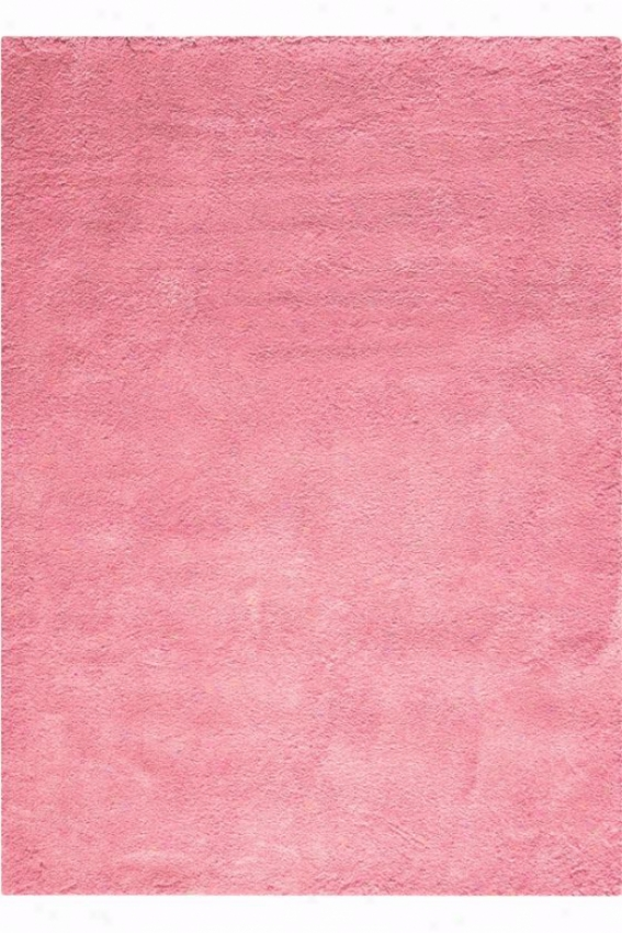 """cozy Shag Rug - 7'6""""x9'6"""", Hot Pink"""