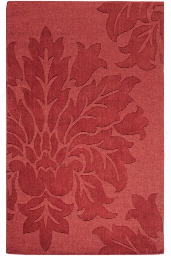 """daphne Rug - 5'3""""x8'3"""", Red"""