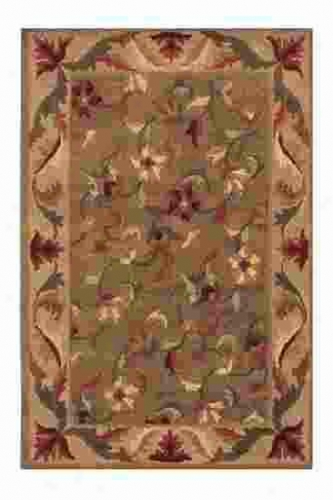 Gangchen Draw Rug - 8'x11', Green