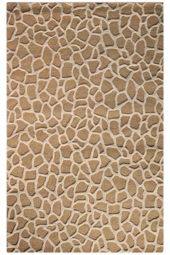 """giraffe Area Rug - 3'5""""x5'5"""", Beige"""