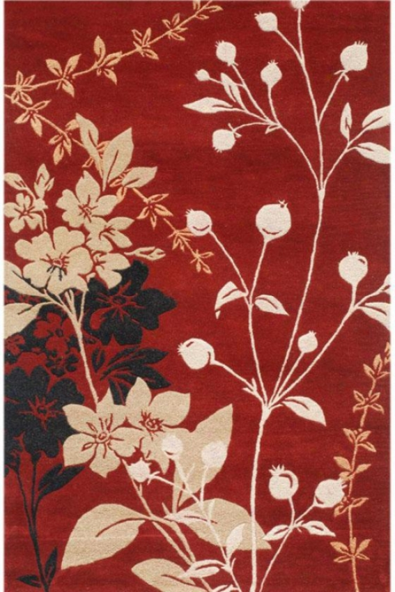 Kochi Area Rug - 2'x3', Red