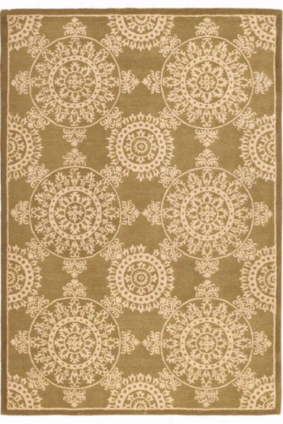 """""""lace Area Rug - 3'6""""""""x5'6"""""""",G reen"""""""