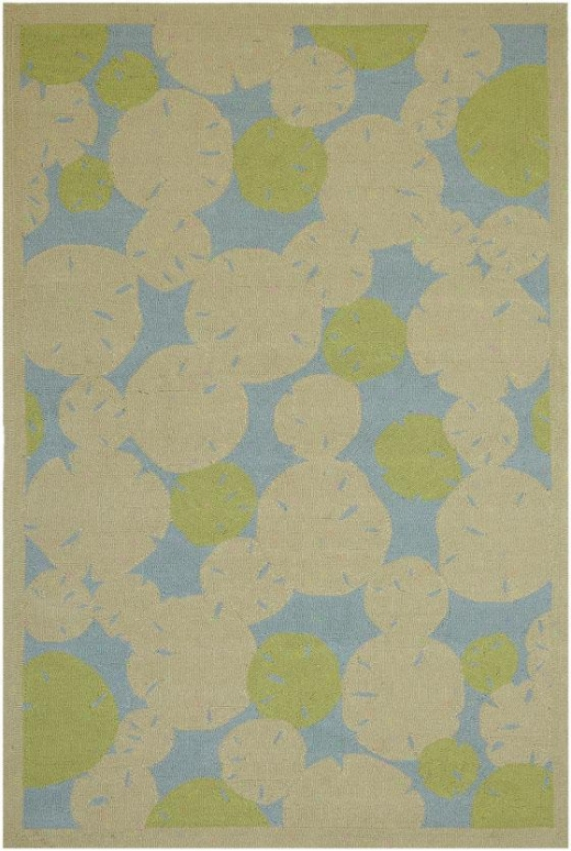 """""""lily Pad Superficial contents Rug - 7'6""""""""x9'6"""""""", Beige"""""""