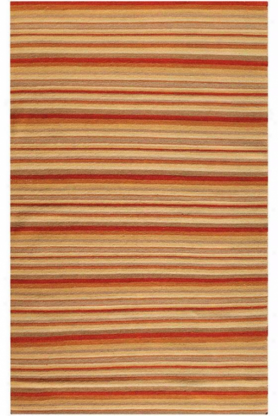 Linear Rug - 8'x11', Coral