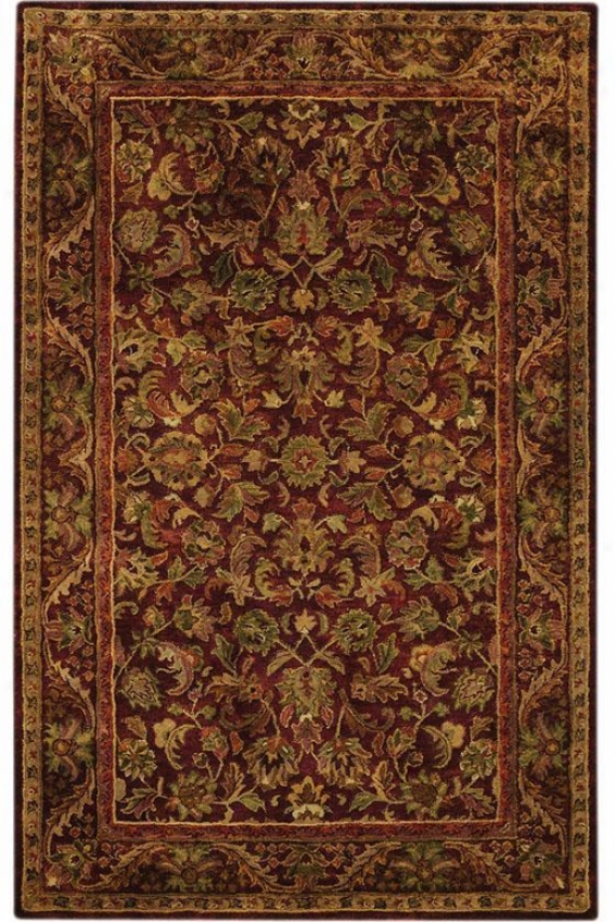 """mmajesty Area Rug - 2'3""""x8' Runner, Brown"""