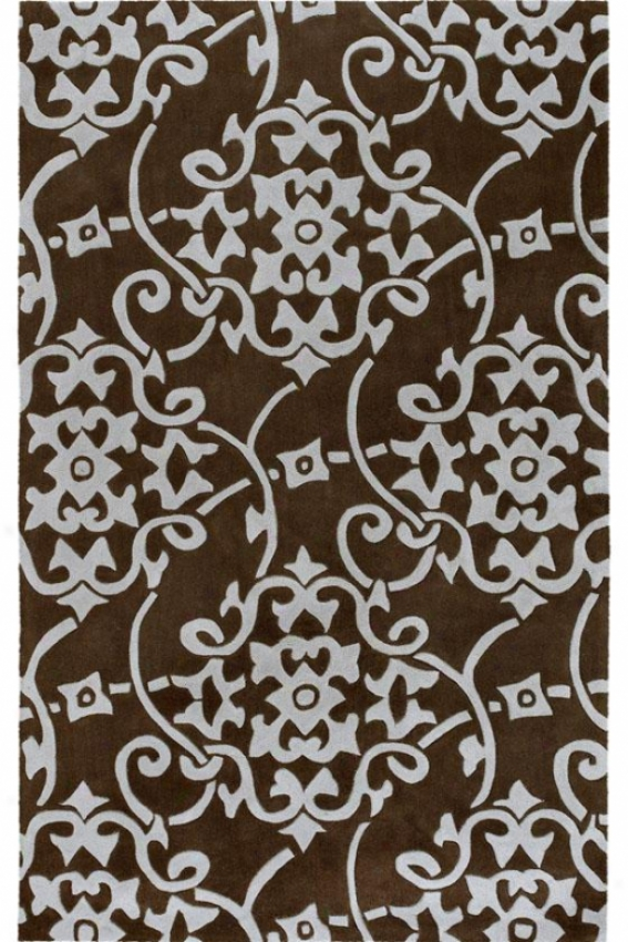 Merit Ii Area Rug - 23c, Chocolate Brown