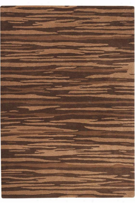 """minos Area Rug - 2'6""""x4'"""", Brown"""