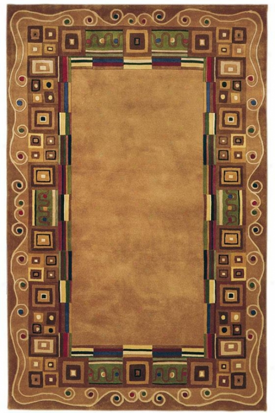 """momeni Arista Area Rug - 3'6""""x5'6"""", Gold"""