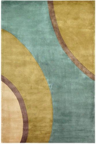 Momeni Stellar Superficial contents Rug - 2'x3', Teal