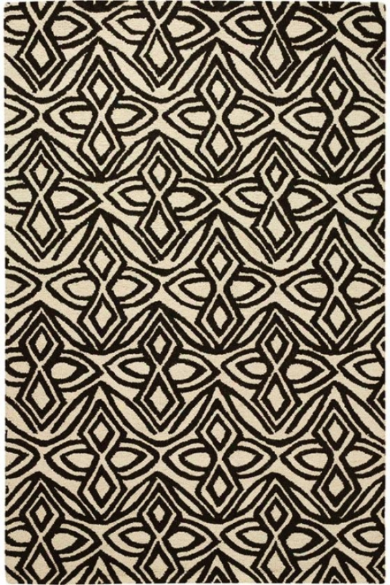Montreux Superficial contents Rug - 8'x11', Ivory