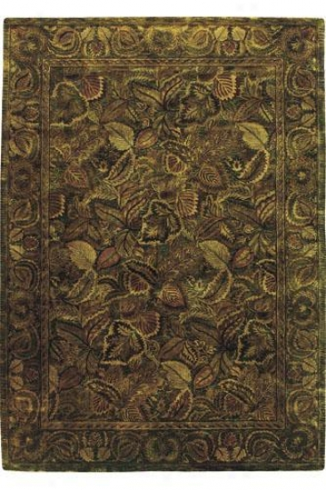 """nourison Manipur Area Rug - 9'6""""x13'6"""", Green"""