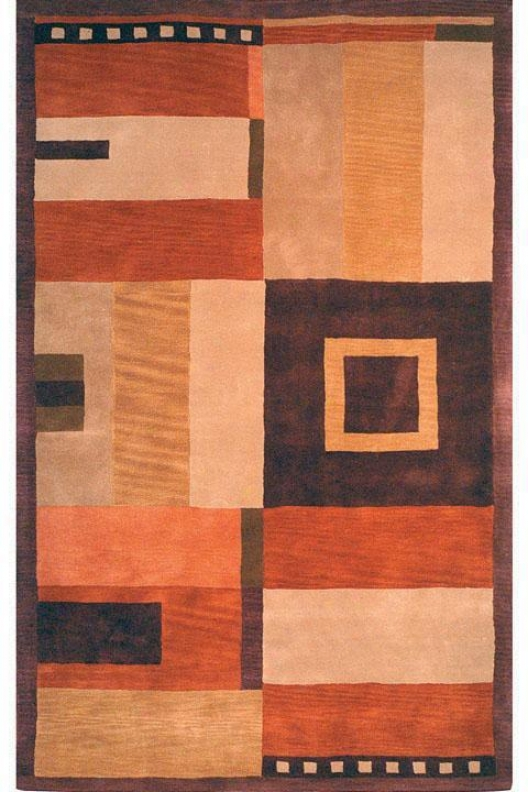 """optimum Area Rug - 2'6""""x10'runner, Copper"""