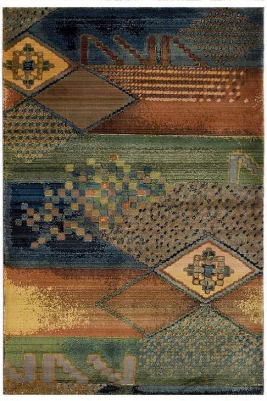 """oriental Weavers Lodge Area Rug - 2'3""""x4'5"""", Multi"""
