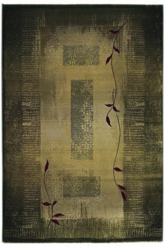 """oriental Weavers Mantra Area Rug - 5'3""""x7'6"""", Green"""