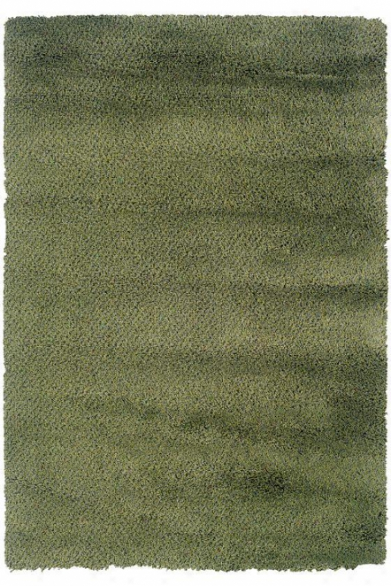 """oriental Weavers Urban Loft Shag Area Rug - 2'3""""x7'9""""runner, Green"""