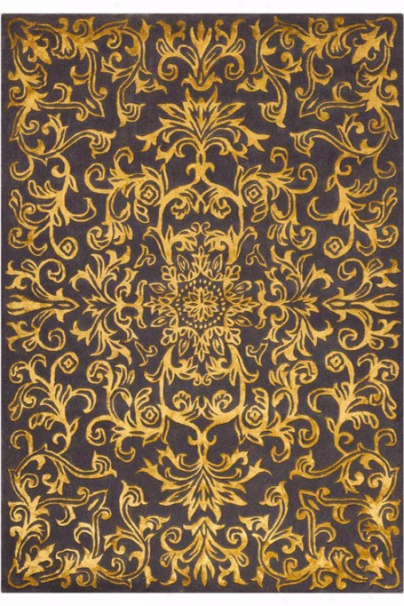 """""""palermo I Area Rug - 2'6""""""""x4'6"""""""", Gold"""""""