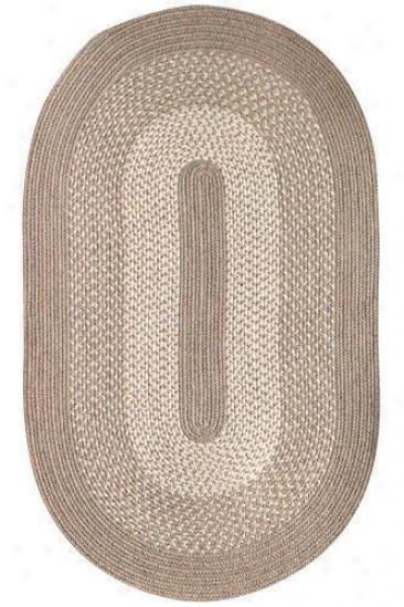 """portoand Wool Blned Area Rug - 3'6""""x5'6"""", Coffee"""