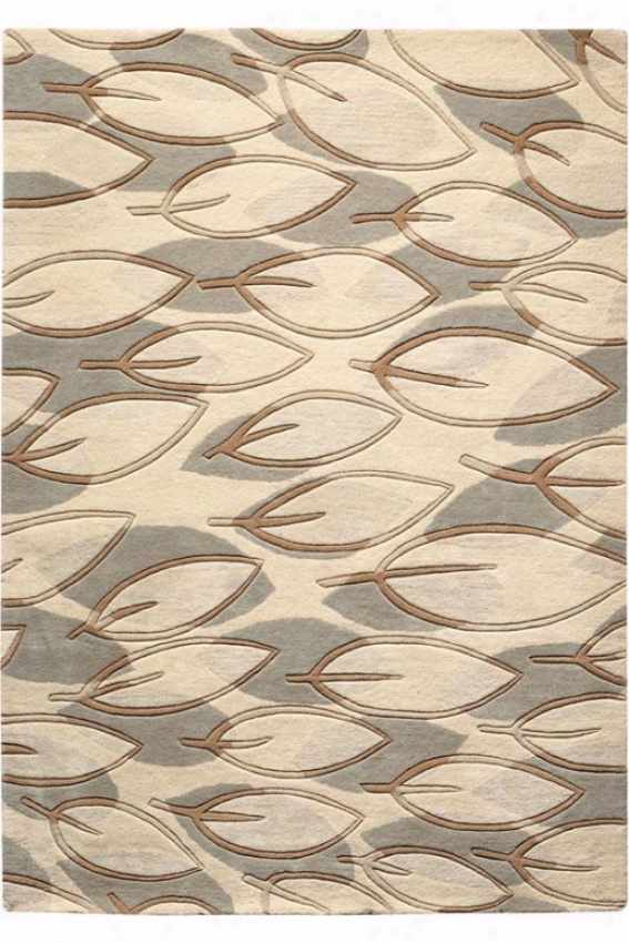 """Thought I Area Rug - 2'6""""x4'6"""", Soft Sage"""