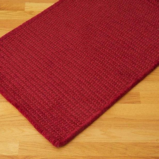 Retreat Area Rug - 8'x10', Crimson