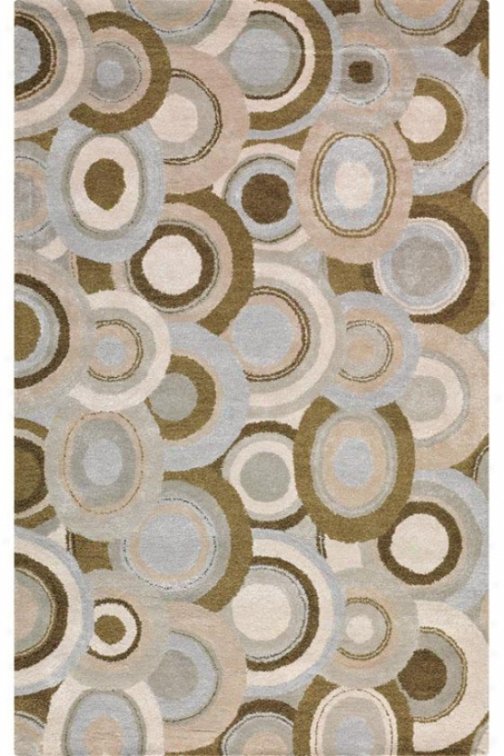 """""""Circle Area Rug - 5'9"""""""" Round, Oyster"""""""