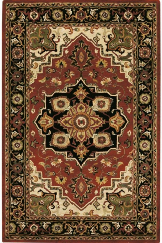 """sheldon Area Rug - 5'3""""x8'3"""", Red"""