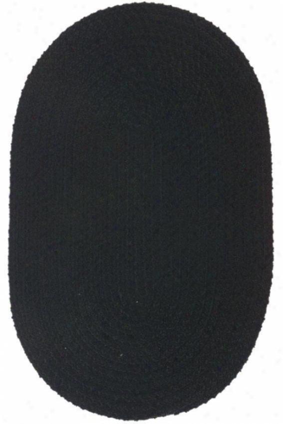 Softex Area Rug - 2'x7'funner, Black