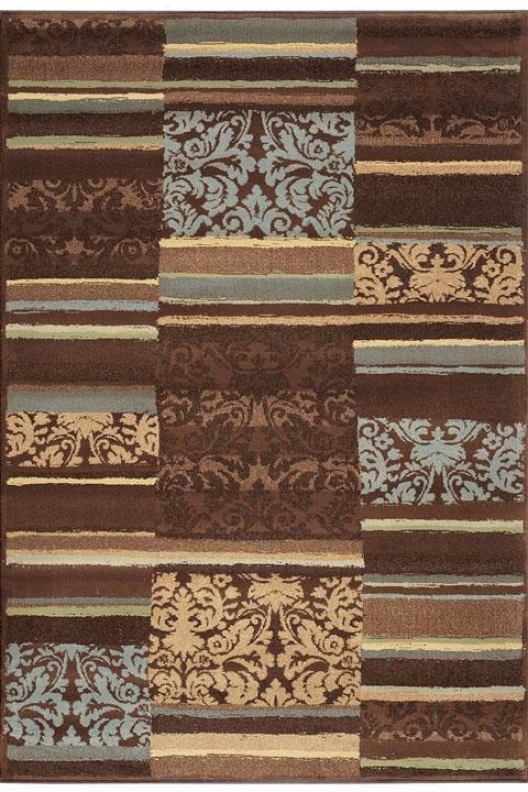"""""""solace Area Rug - 2'6""""""""9'1""""""""runner, Briwn"""""""