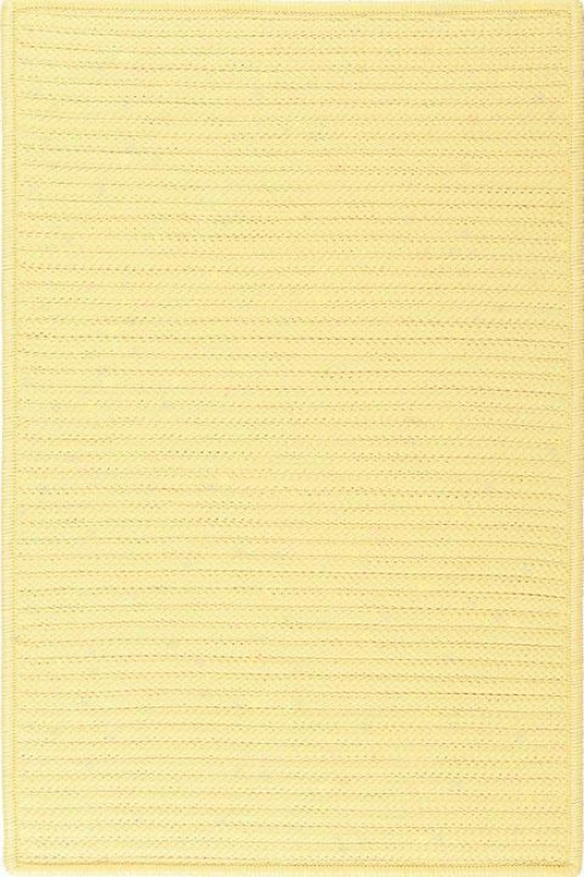 """Strong Area Rug - 1'10""""x2'10"""", Banana Yellow"""