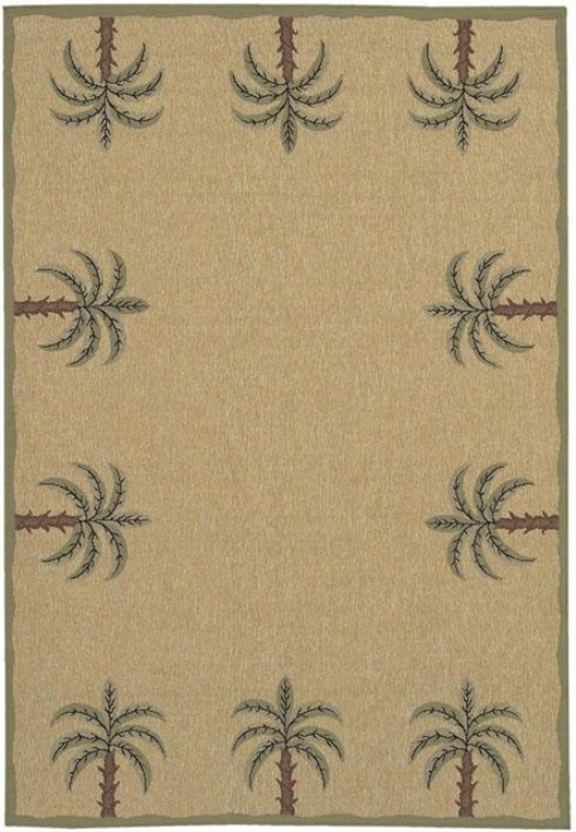 """surfside Area Rug - 2'3""""x11'9""""runnr, Beige"