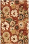 """camille Ii Area Rug - 2'9""""x14' Runner, Brick Red"""