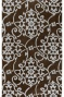 Merit Ii Area Rug - 2x3, Chocolate Brown