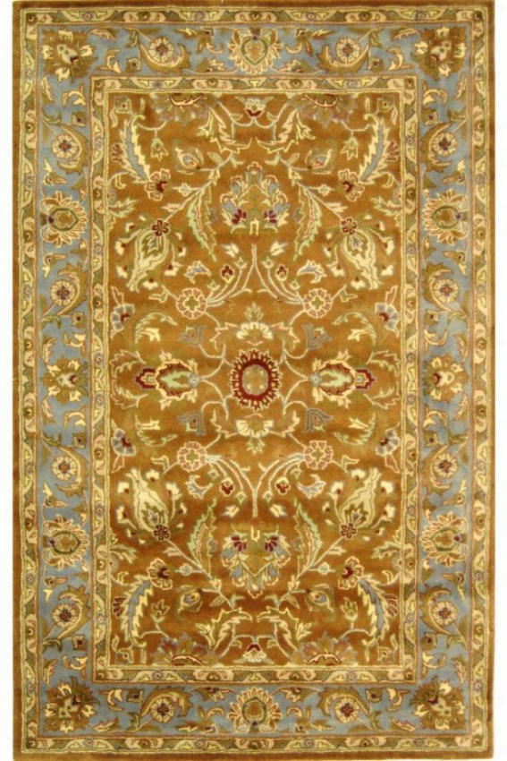 """toulon Ii Area Rug - 2'3""""x16' Runner, Brown"""