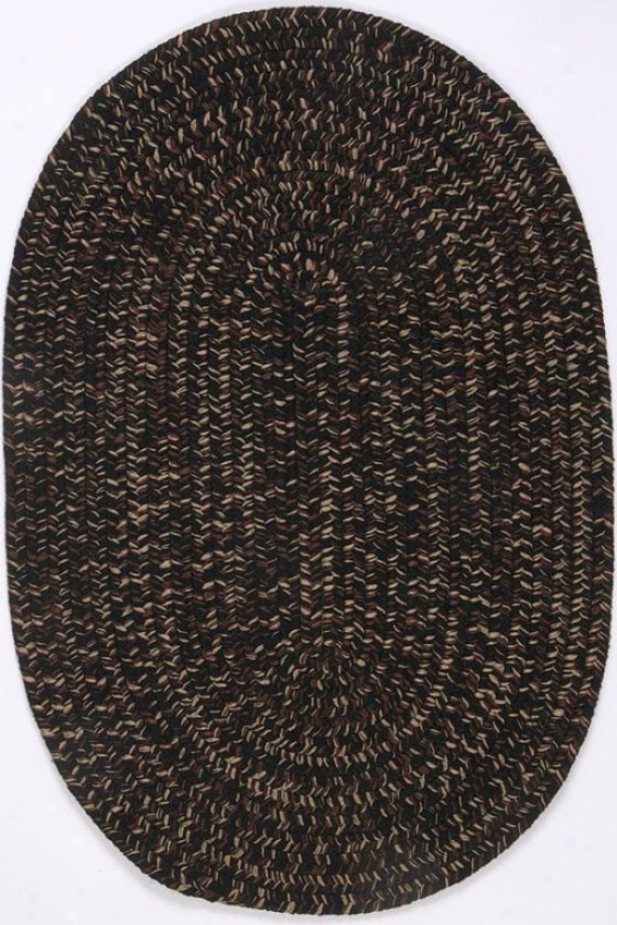 Tweed Ii Area Rug - 2'x3', Bkack