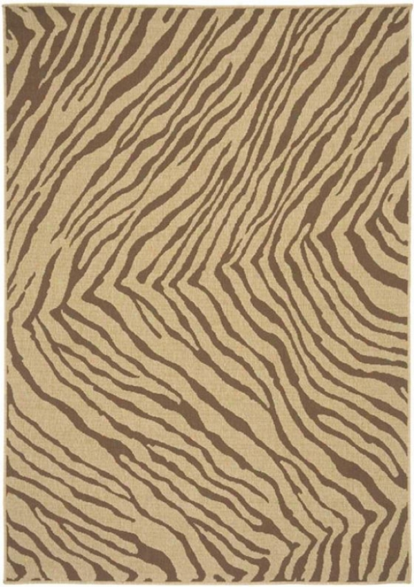 """wallabee Region Rug - 2'3""""x4'6"""", Tan"""