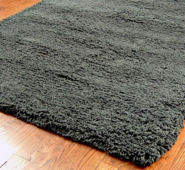 Westhaven Shag Area Rug - 5'x8', Charcoal Gray