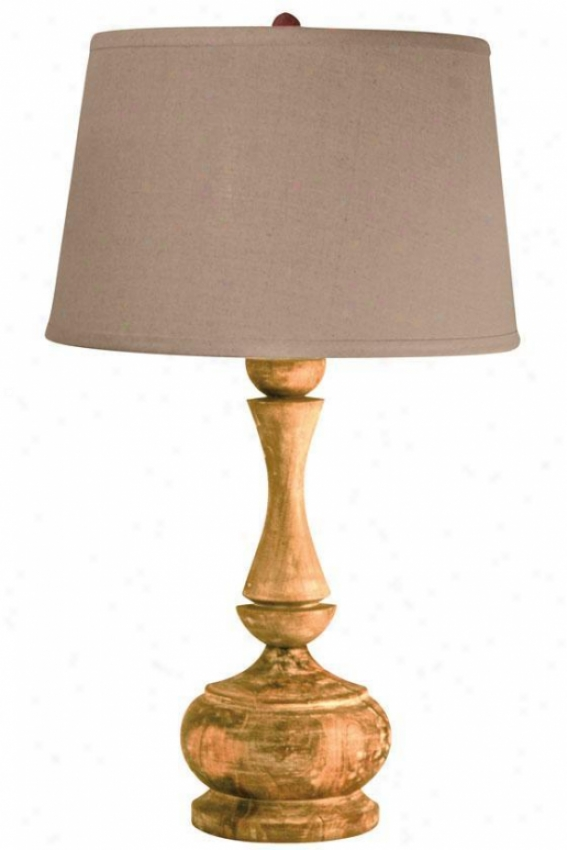 """acacia Table Lamp - 29""""hx16""""d, Brown"""
