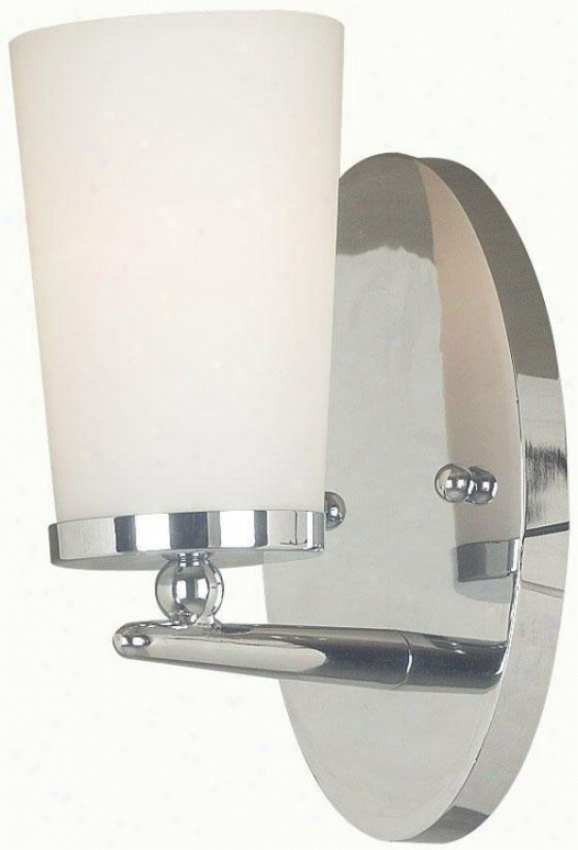 Aerial Wall Sconce - 1-light, Steel Gray Nickel