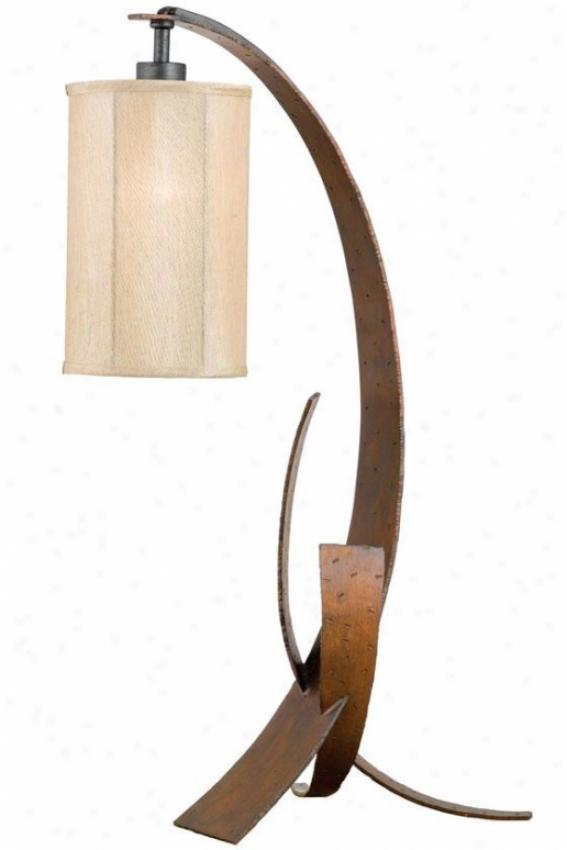 """""""aizen Table Lamp - 30""""""""h X 11.25""""""""w, Ham Ore/asp Brz"""""""