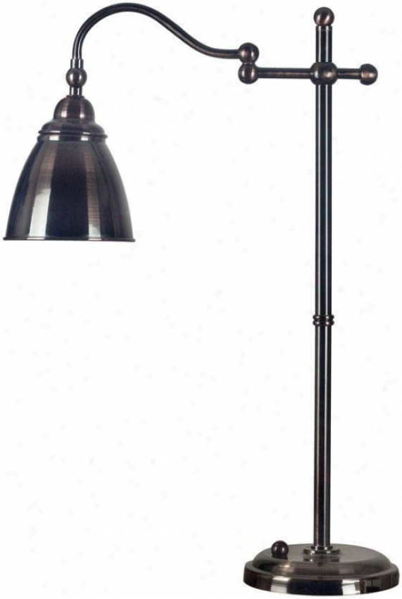 """alexander Table Lamp - 26""""h, Bronze"""