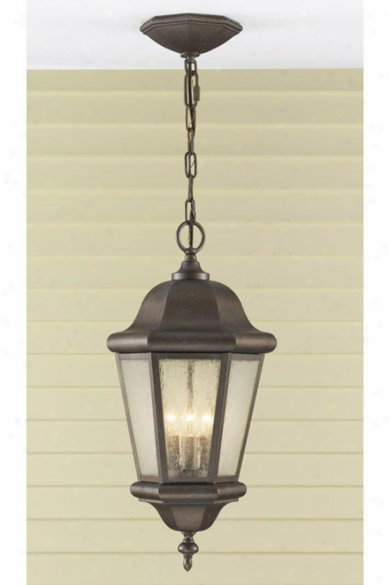 Anderson Outdoor Pendant - Three Light, Bronze