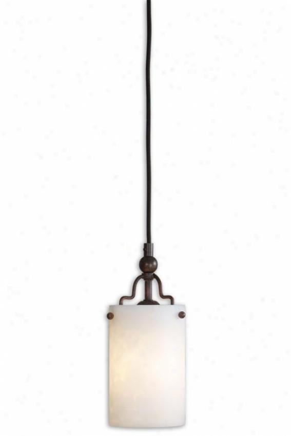 Andros Mini Pendant - 1 Light/mini, Pumpkin