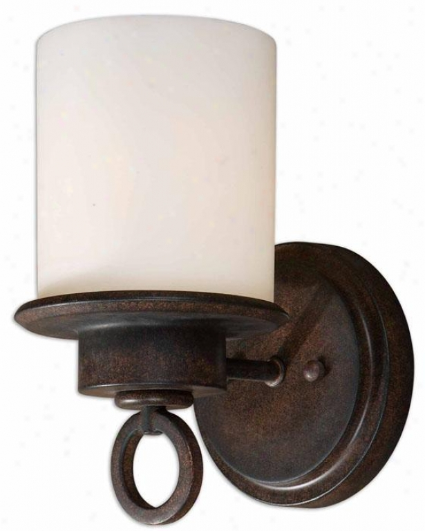 Andros Wall Sconce - 1 Light, Pumpkin