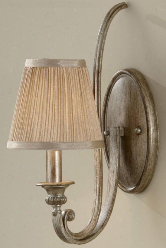 Aribella Sconce - One Light, Silver Sand