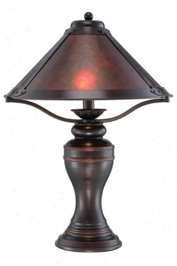 Artesia Table Lamp - 19.75h X 14.75w, Bronze