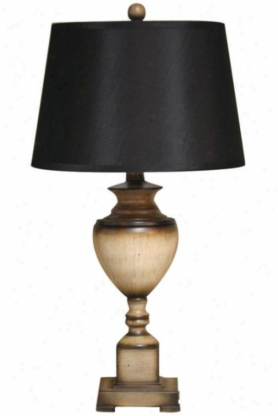 """ashford Table Lamp - 15""""wx15""""dx28""""h, White"""