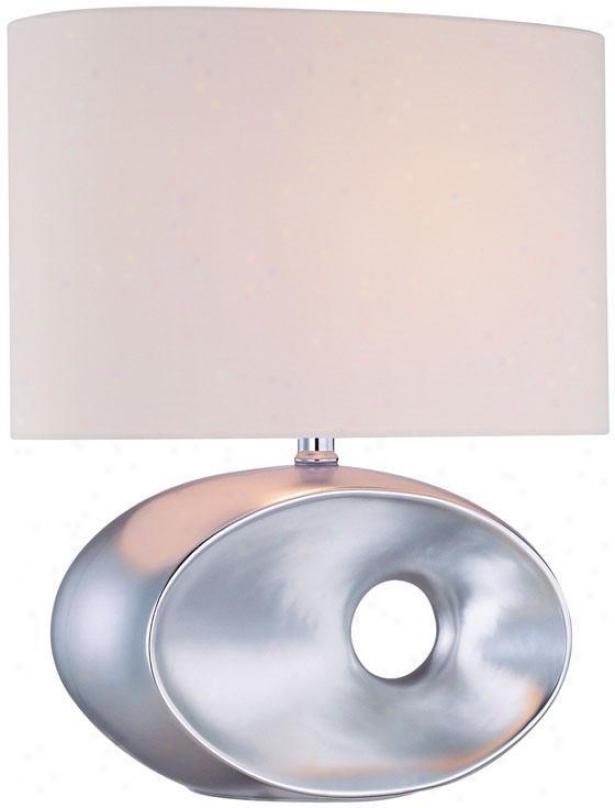 """""""ashton Table Lamp - 18""""""""hx14.5""""""""d, Silver"""""""
