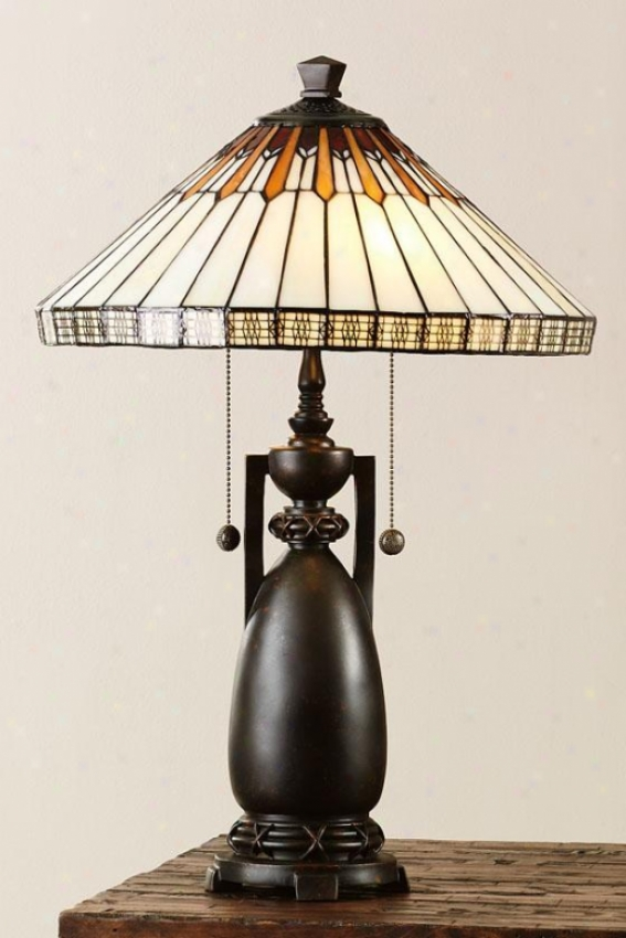 """augusta Table Lamp - 24h X 16""""d, Bronze"""