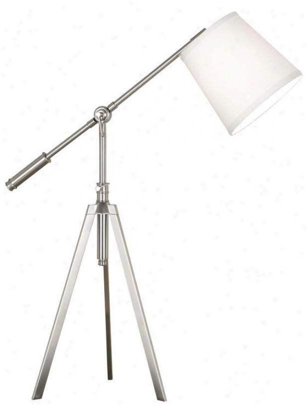 """axel Table Lamp - 29""""-34""""h, Grey Steel"""
