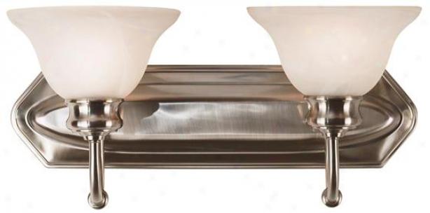 Bailey Vanity Lightjng - 2-light, Grey Steel