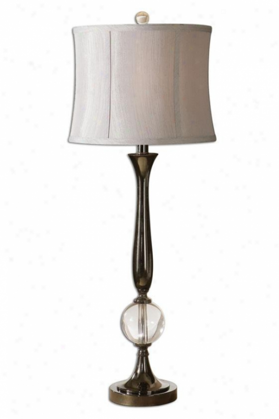 """banida Table Lamp - 35""""h, Black"""